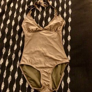 Old Navy halter bathing suit one piece